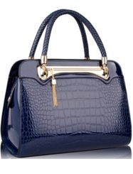 Was and Now - Fashion Clothing -  alligator Skin Awesome Classical Pu Shoulder Bags