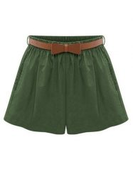 Was and Now - Fashion Clothing - Compact Basic Casual Shorts