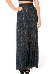 Was and Now - Fashion Clothing - Geometric Stunning Maxi Skirts