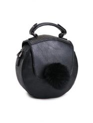 Was and Now - Fashion Clothing - Rivet Charming Fashionable Pu Hand-bags