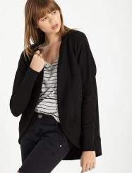 Was And Now - Cotton On Women - coco cocoon cardi - Black