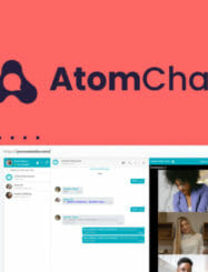 WAS AND NOW - AtomChat Lifetime Deal for $49 WAS $1188.00