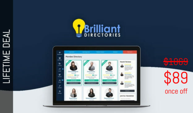 WAS AND NOW - Brilliant Directories Lifetime Deal for $89 WAS $1069.00