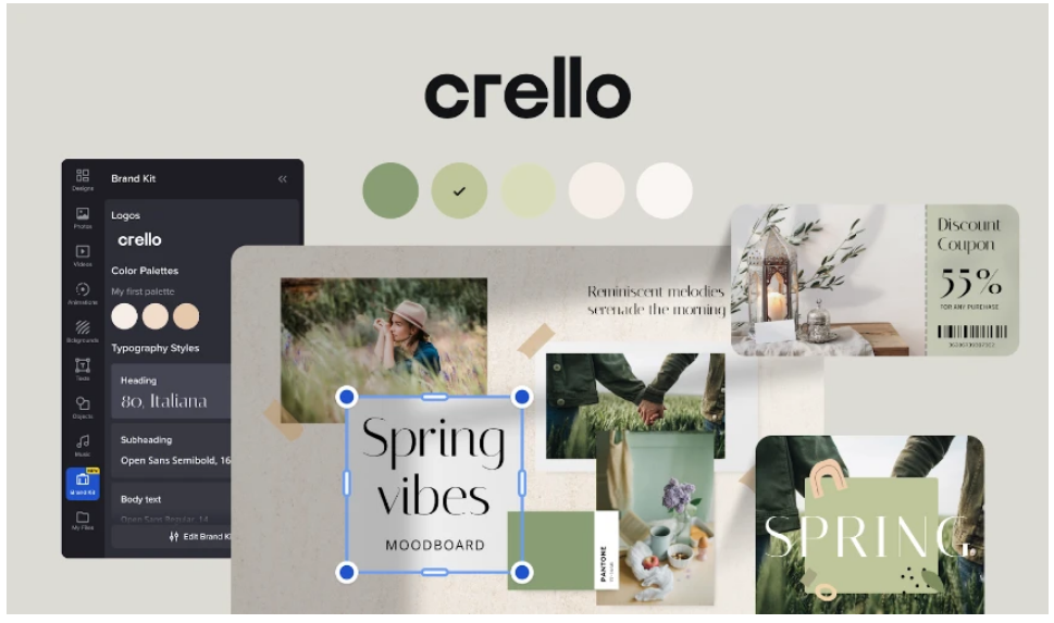 Buy Software Apps Crello Lifetime Deal content 2