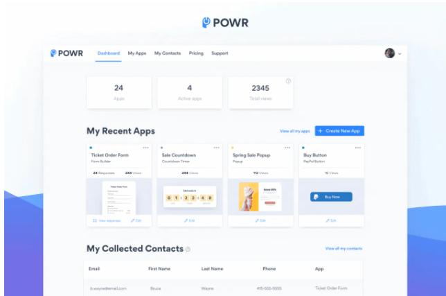 Buy Software Apps POWR Lifetime Deal content 1