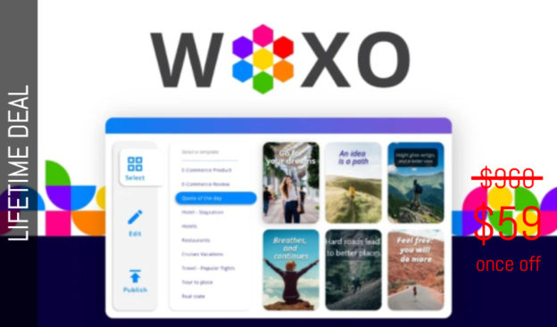 WAS AND NOW - WOXO Lifetime Deal for $59 WAS $960.00