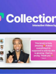 WAS AND NOW - Collections by BIGVU Lifetime Deal for $59 WAS $479.00