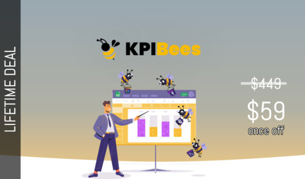 WAS AND NOW - KPIBees Lifetime Deal for $59 WAS $449.00
