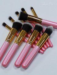 10 Pcs Nylon Fiber Brush Set