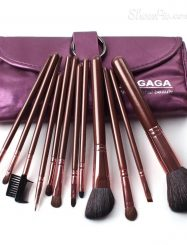 12  Pcs Professional Goat Hair Cosmetic Brush Set