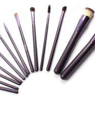 13Pcs Goat Hair Cosmetic Brush Set