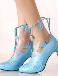 Perfect Design Genuine Leather Stiletto Heel