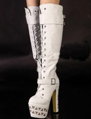 Sexy Large Size Night Club High Heels Over Knee High Boots
