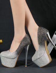 Shining Sexy Night Club Platform Heels