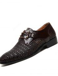 Shoespie Fashion Lace-Up Business Men's Oxfords