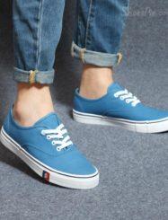 Shoespie Lace Up Men's Canvas Shoes