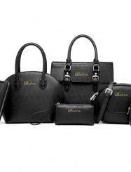 Shoespie  PU with Little Bags Women's Tote Bag Set