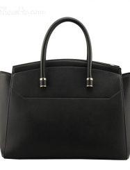 Shoespie Solid Color Multitire Design Handbag